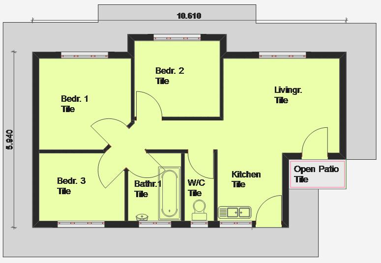 House plans building plans and free house plans floor House layout plan