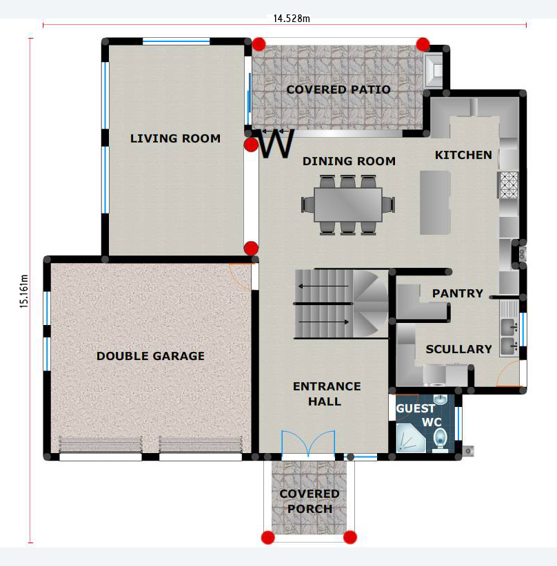 floorplan ground