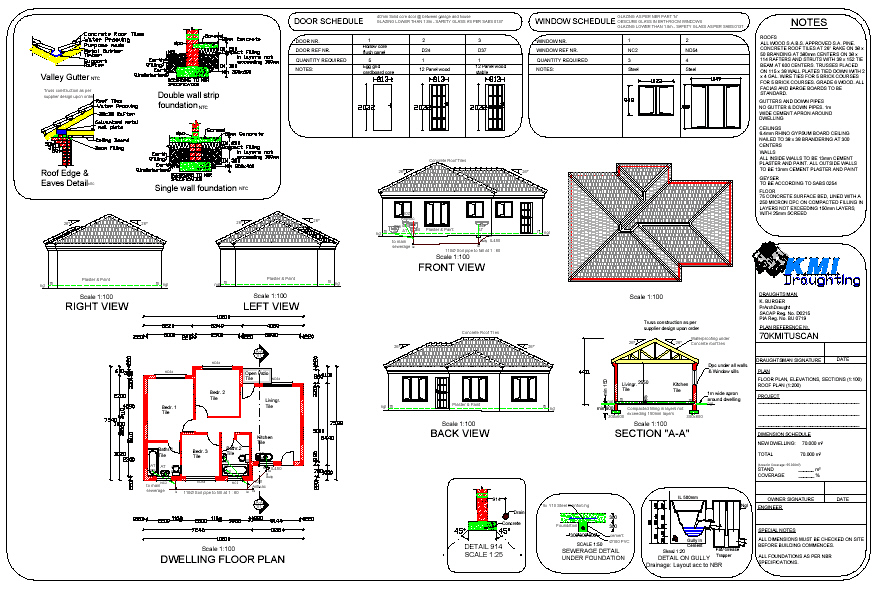 House plans building plans and free house plans floor for Foundation plan of a 2 storey house